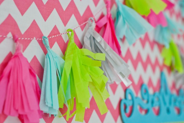 tassle fringe diy craft