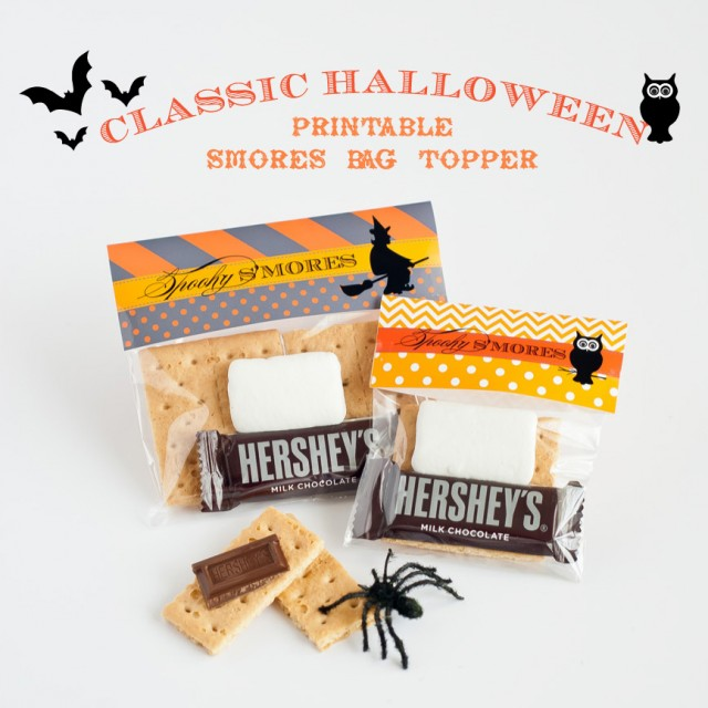 halloween favor smores kit