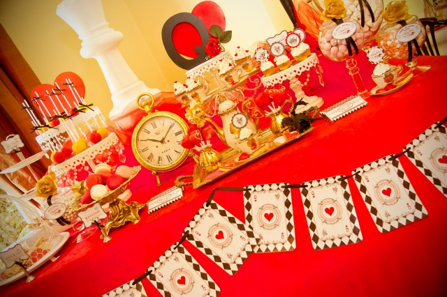 Queen Themed Birthday Party Queen of Hearts Birthday Party