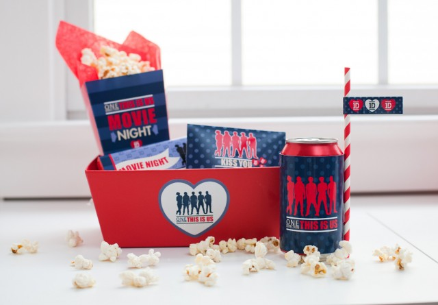 movie viewing party treat box