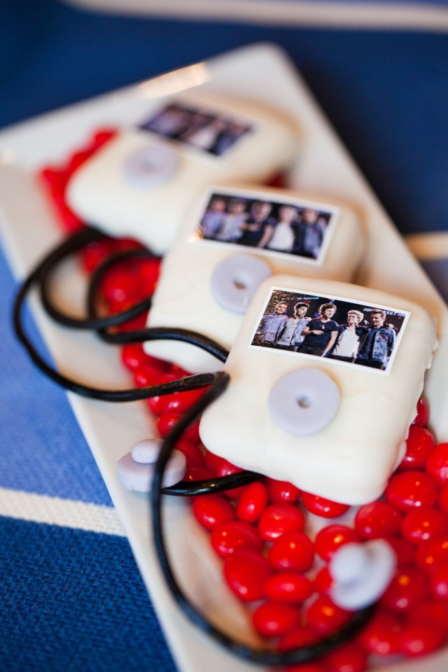 one direction ipod cookies