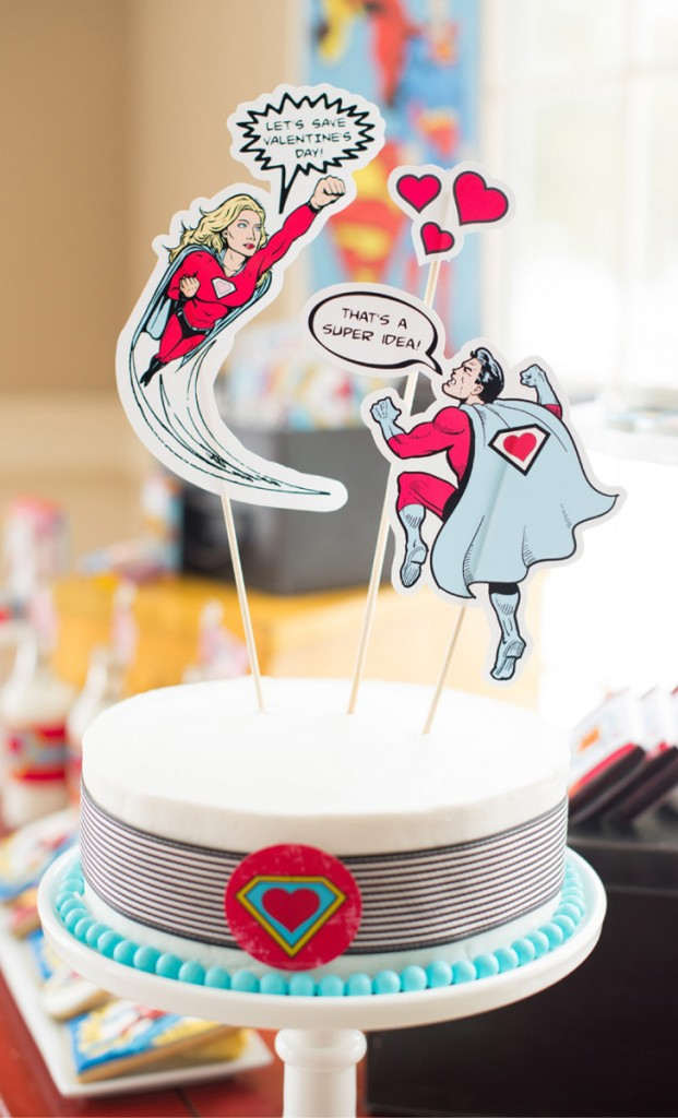 super hero cake idea