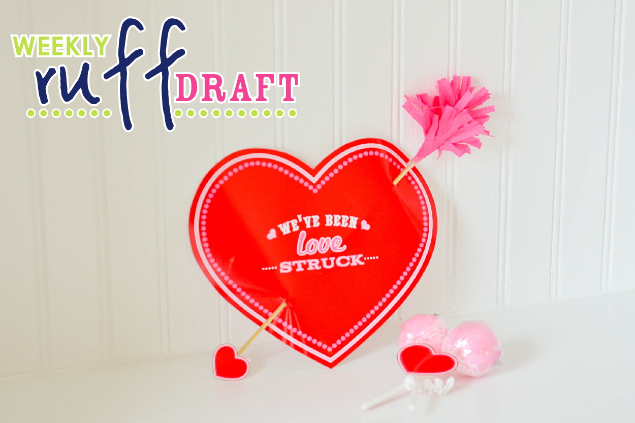 Crafting a 3D Love Struck Valentine