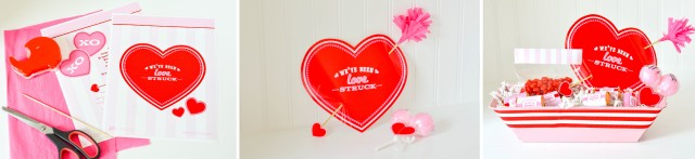 How to make a Cupid Love Struck Valentine