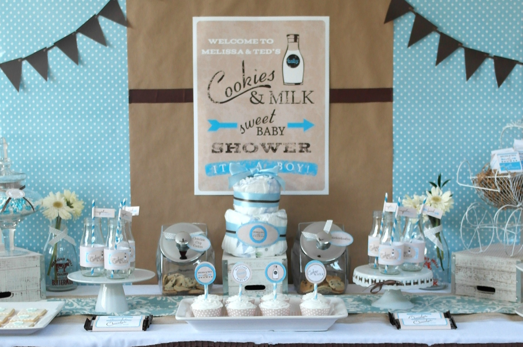 Milk and Cookies Baby Shower