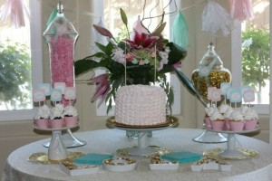 Shabby Chic Baptism Lola feature