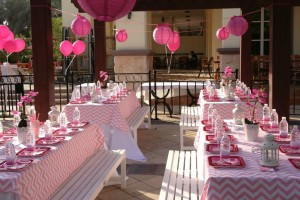 princess party setup