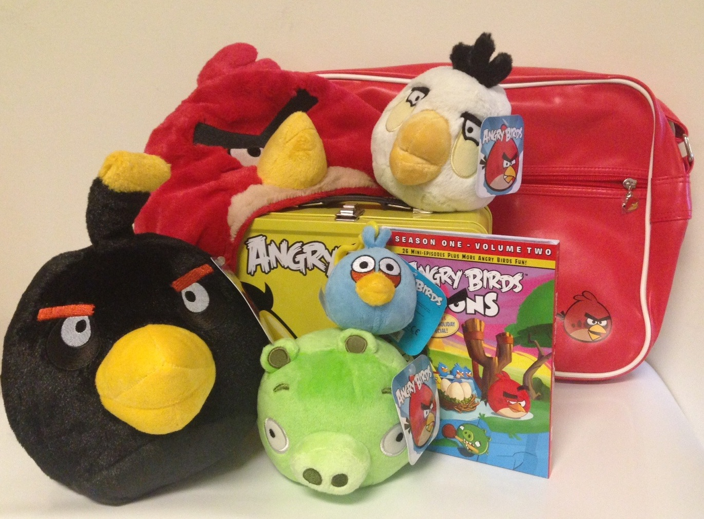 Angry Birds Toons Giveaway Prize