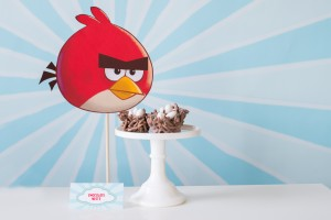 angry birds chocolate nests