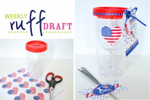 wine tumbler 4th of july