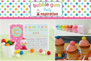 bble Gum Party Inspiration