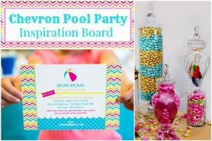 Pool Party - Chevron Patterns