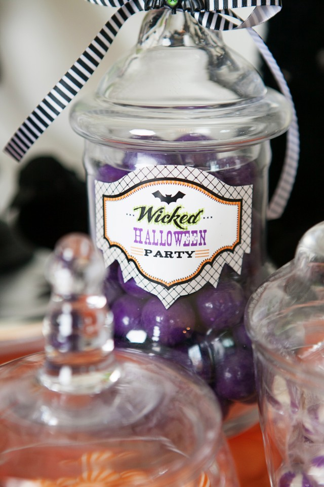 wicked witch halloween apothecary jars