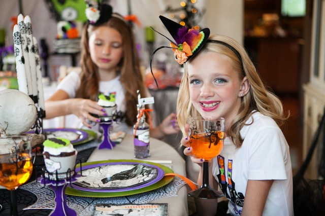 wicked witch halloween party dining