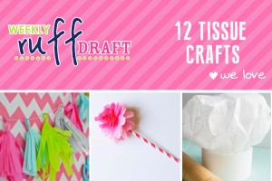 Tissue crafts we love