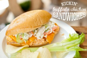 buffalo chicken sandiwches