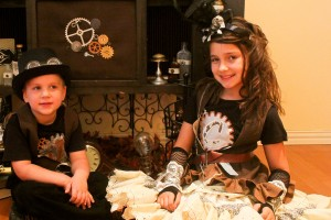 steampunk kids costumes