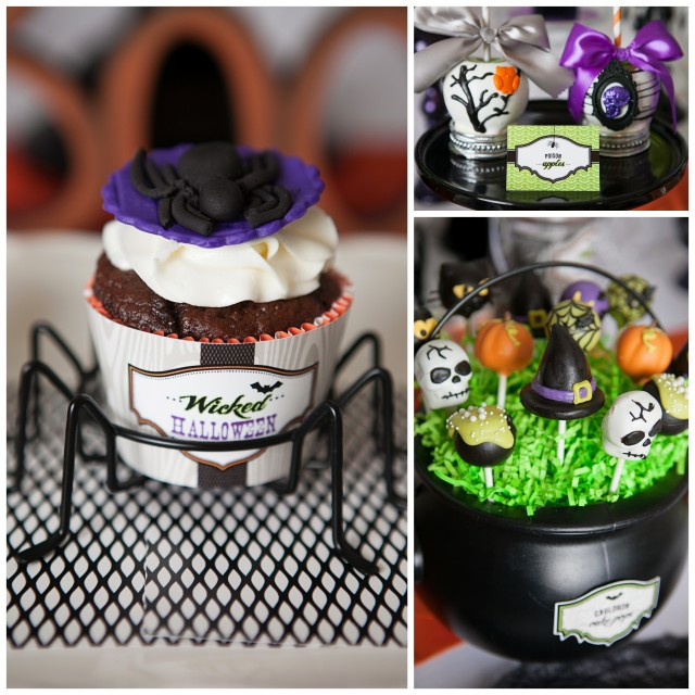 wicked witch halloween party desserts
