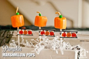 chocolate pumpkin pops