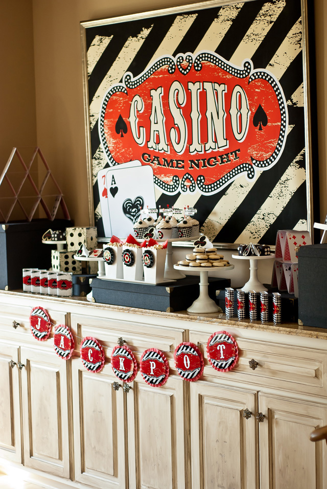 Casino Theme Party Games Ideas