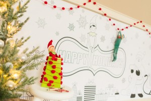 elf-coloring-wall-posters
