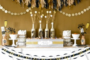 New Year's Eve Rustic Glam
