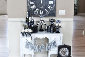 New Years Eve Party Ideas and Decorations, Countdown, Chalkboard