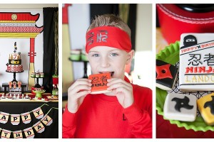 Lego Ninjago inspired party