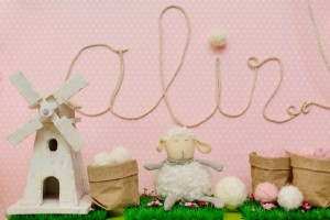 Lamb Party Decorations