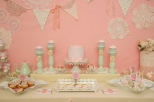 Tea Party for a first birthday