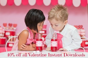 Valentine Sale on Instant Download Valentine's Day Decorations