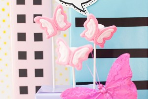 barbie butterfly pops