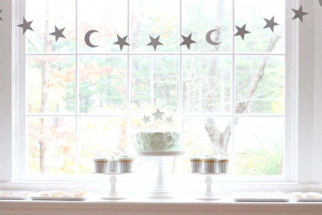Lovely Party Feature Moon and Stars Birthday KateLanders photos