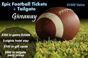 Football giveaway